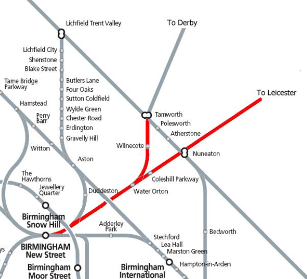 News  The South Staffordshire Line