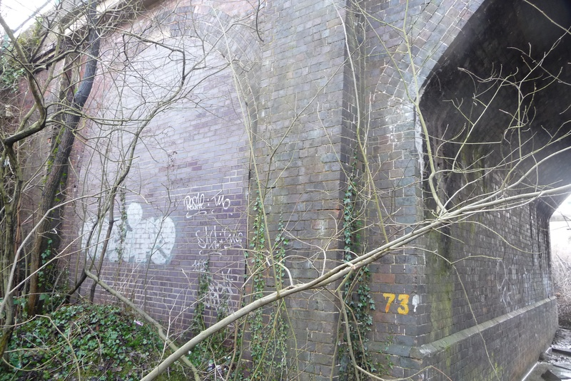 Old arch bricked up