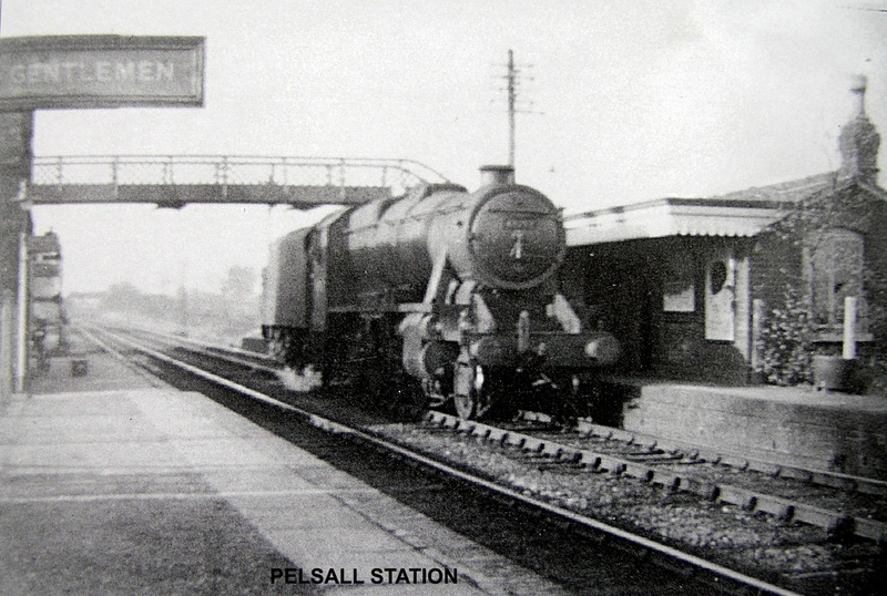 Locomotive at Pelsall