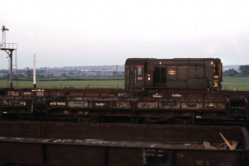 Class 08, Shunter engine at Norton Junction