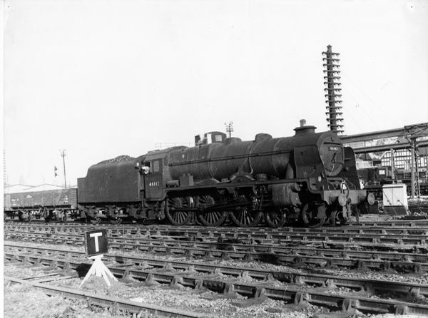 46142 with Water Orton freight. 1959
