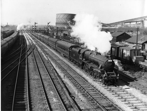 448929 on Blackpool excusion return in 1959