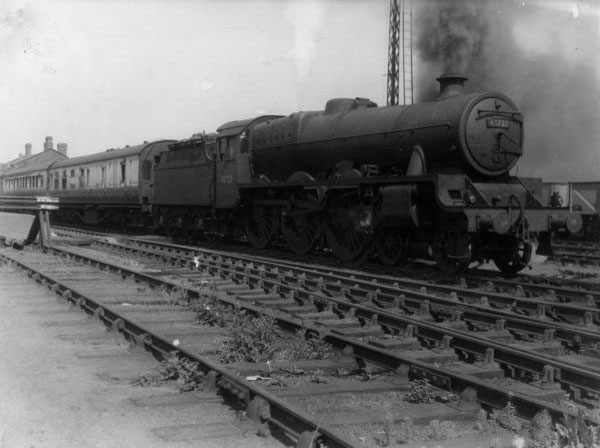 45722 at Bescot Station 1959