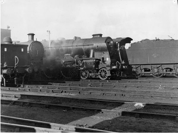 "45735 ""Comet"" at Bescot Shed 1958"