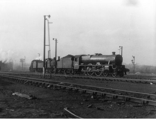 4570G on Bescot MPD 1957