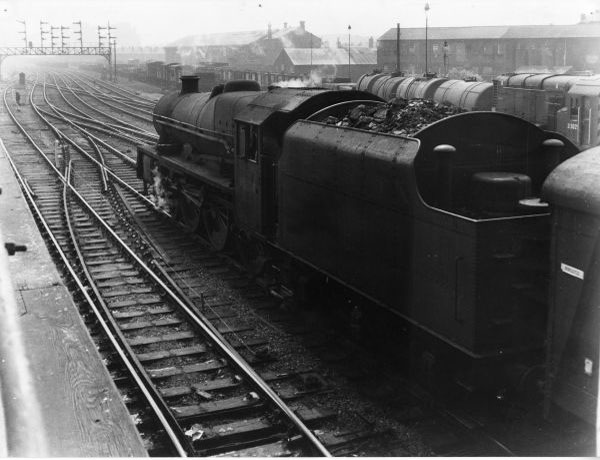 View from Walsall No2 Signal Box 1959