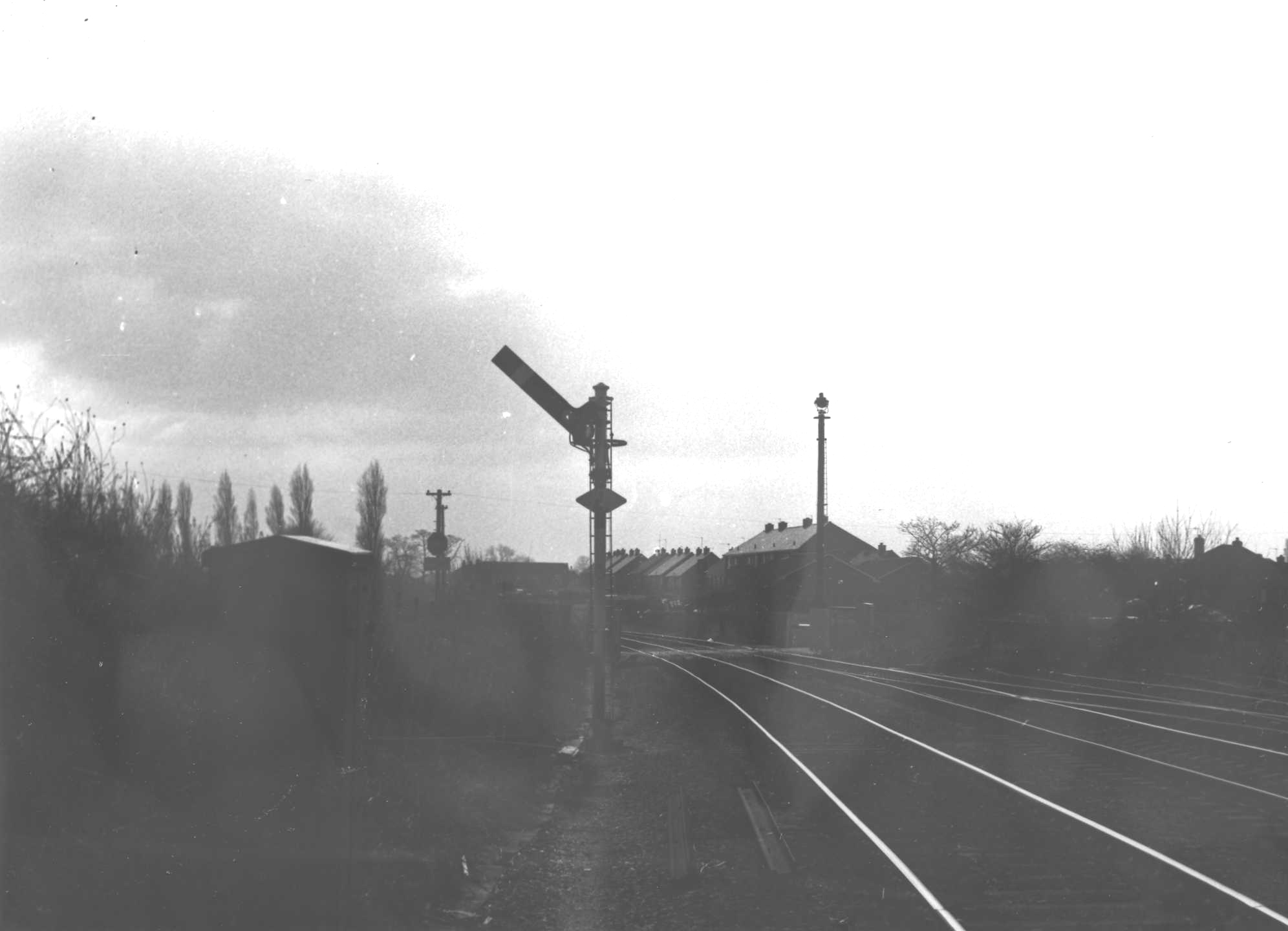 "Norton Junction ""up"" starter signal"
