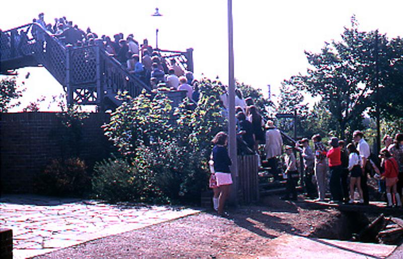 Footbridge in the 1970's